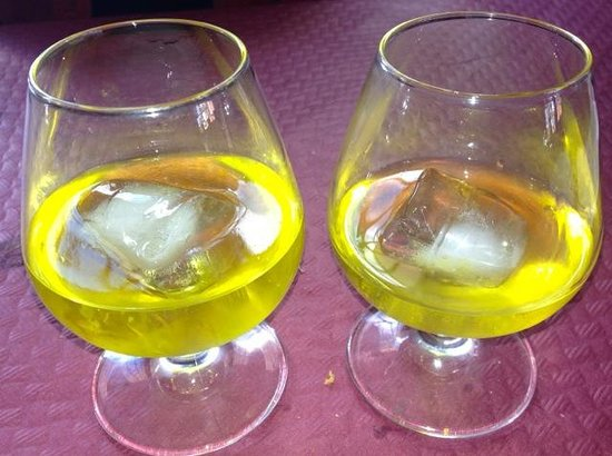 Venta Talillas: after diner Liquor on the house