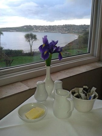 Grand Hotel Swanage: View from breakfast area
