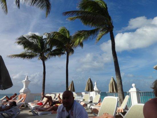 Hotel Riu Palace Las Americas: Pool area