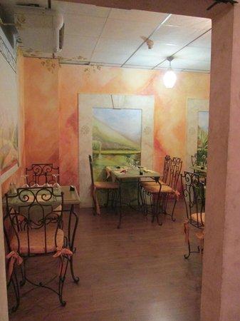 La Lauzetane : Une salle du restaurant