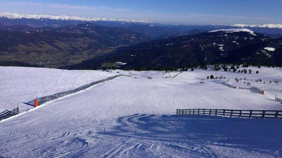Relax Resort Kreischberg: Rosenkranzhöhe - top of the Kreischberg ski resort