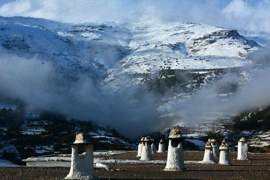 Alcazaba de Busquistar : Vista spectacular de la sierra