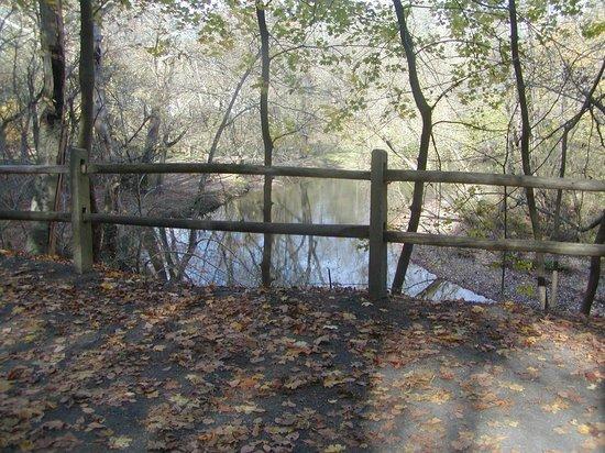 Wissahickon Valley Park : Walking along side the Wissahickon Creek