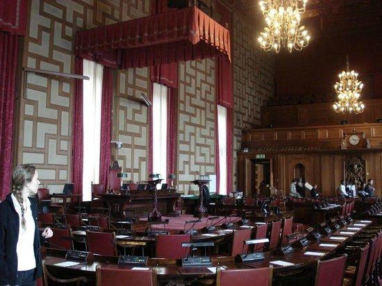 Ayuntamiento: The council room