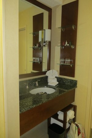 Tower Hotel Oklahoma City : vanity/sink