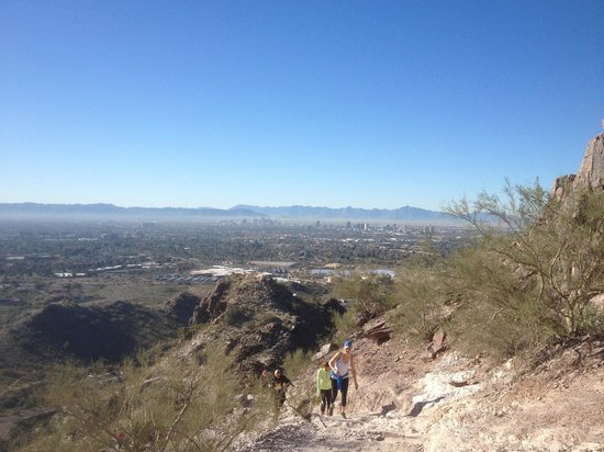 Piestewa Peak: View from the trail