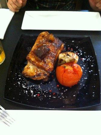 Refugio- Restaurante del Carmen: Les  côtes de porc