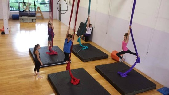 Philadelphia School of Circus Arts: One activity during party