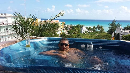 Acanto Boutique Hotel & Condominiums Playa del Carmen: Acanto terrace 14