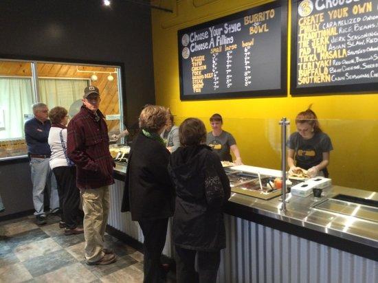 Two Loco Guys: Hungry customers
