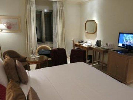 Hotel Bristol: interior do quarto
