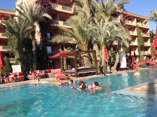 Piscine photo de sofitel marrakech lounge and spa - Piscine sofitel marrakech ...