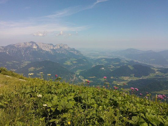 View from kehlsteinhaus