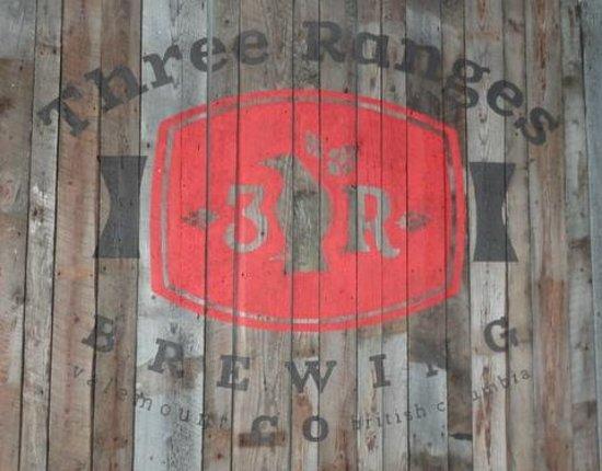 Valemount, Canada: Three Ranges Brewery Logo