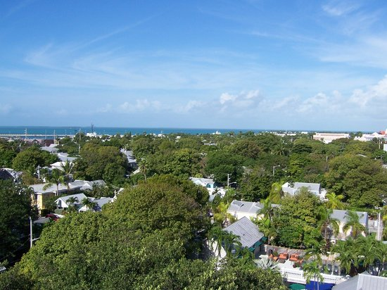Eden House : View from the Key West Lighthouse