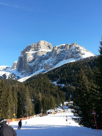 Hotel Plan de Gralba : view of the mountain