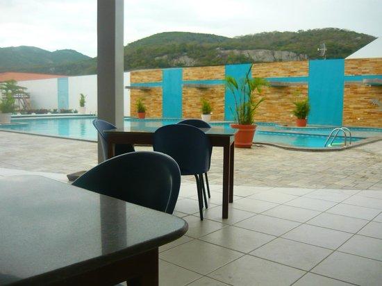Hotel Estacao Cruzeiro : Piscina com cascatas