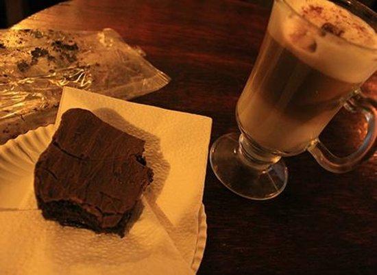 Cafe Conquistador: brownie perfeito!