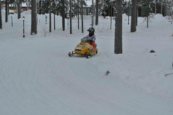 Santa Claus Holiday Village: Moto neige