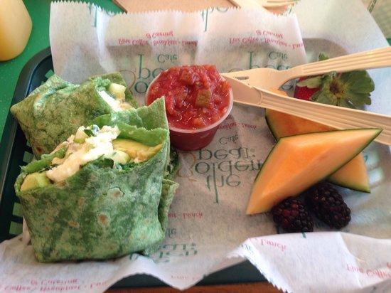 Golden Pear Cafe : Spa Wrap