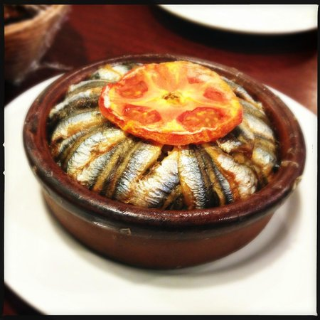 Culinary Backstreets -Tours: Sardine dish from Hayvore