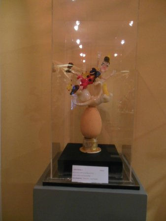 Musee Escoffier de l'Art Culinaire: One of many food sculptures from past contests