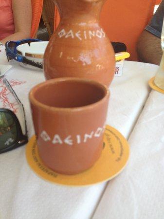 Fainos Restaurant: wine
