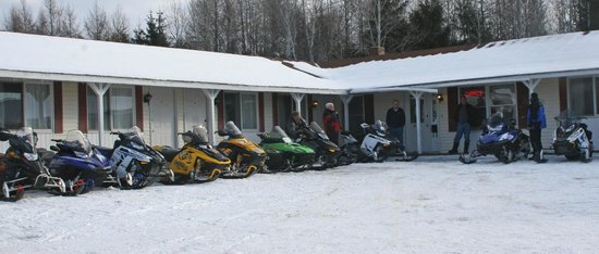 Aroostook Hospitality Inn: Getting ready for a ride to anywhere 2300 miles will take you