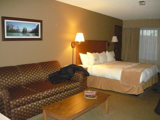 Radisson Hotel Colorado Springs Airport : The hotel room