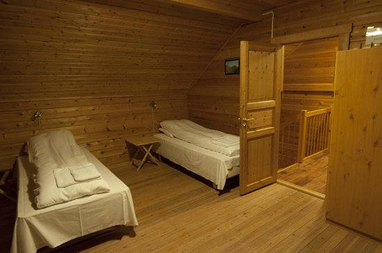 Lauklines Kystferie: One of the bedrooms