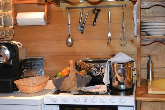 Les Chalets de Philippe: kitchennette