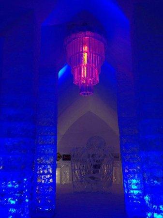 Hotel de Glace: Main Lobby