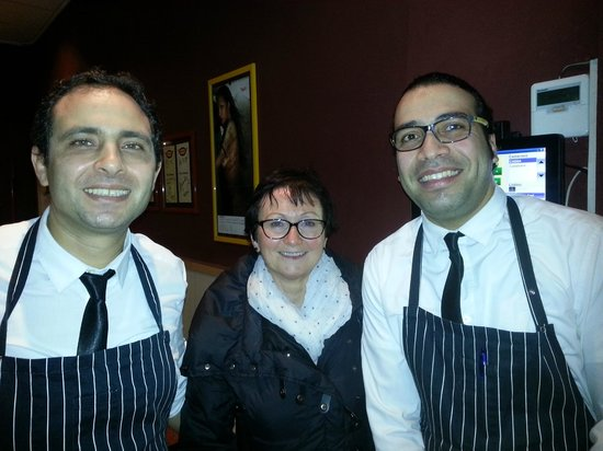 BRICKOVEN - TADINO Restaurant & Pizza : Mauro, Ger and Modii