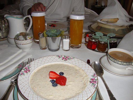 The Dorchester: The Best Muesli Ever