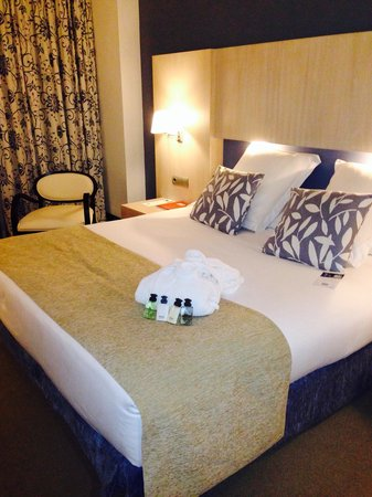 Hotel Nuevo Boston: Habitación junior suite