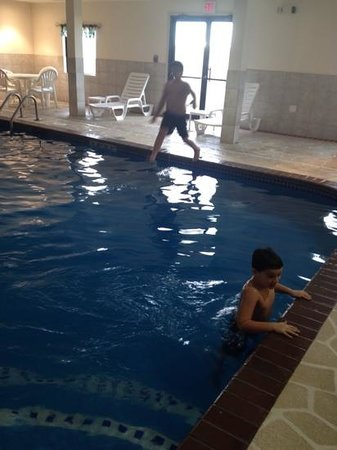 Comfort Inn: Indoor pool area