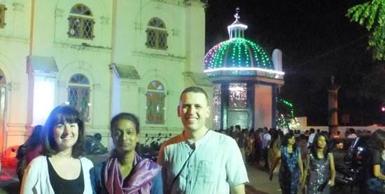 Casa Mia Homestay : At church with Usha