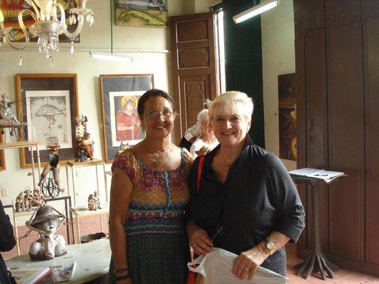 Plaza del Carmen: With Martha Jiminez