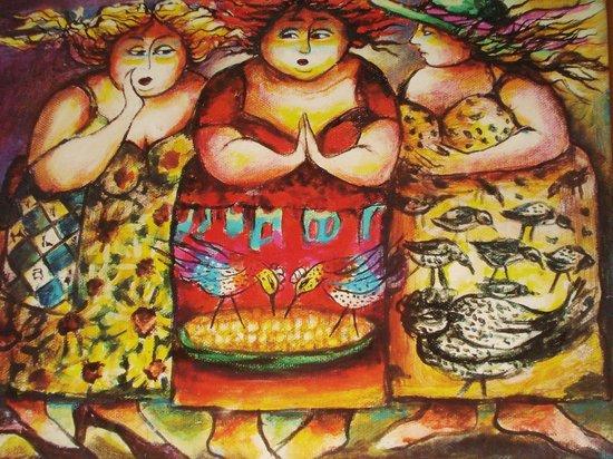 Plaza del Carmen: GREAT art by Martha Jimenez