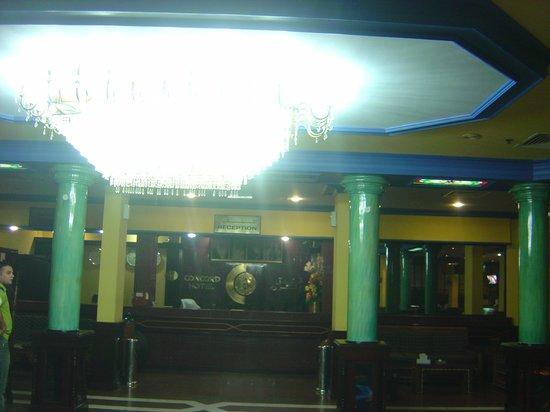 Concord International Hotel: hotel lobby