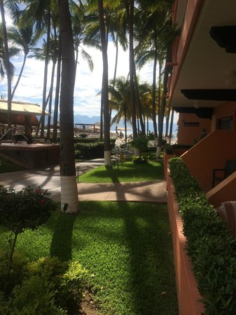 Villa del Palmar Beach Resort & Spa: View from our patio.