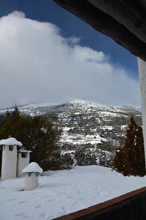 Alcazaba de Busquistar: La vista desde apartamento 242