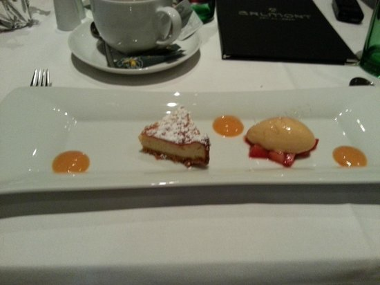 Arlmont: десерт