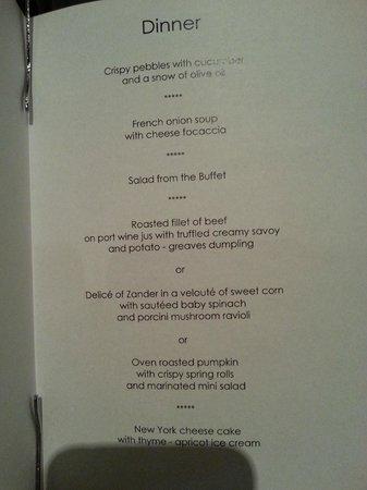 Arlmont: меню с 5 переменами блюд, каждый день новое