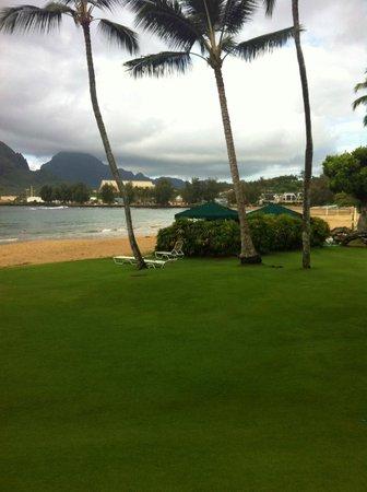 Kaua'i Marriott Resort : Resort's beach area