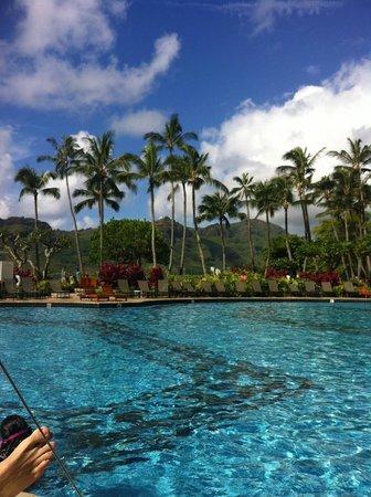 Kaua'i Marriott Resort : From the pool chair
