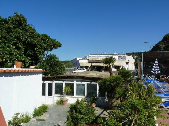Hotel Villa Franca : esterno piscina interna