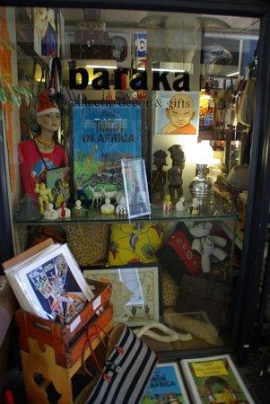 Baraka Gifts and Decor : Display window