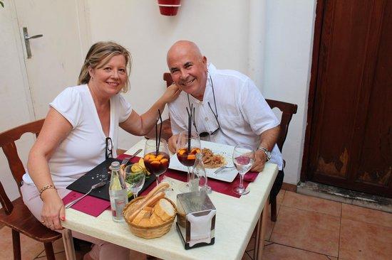 El Patio Chico: Zaken diner met Fins Agent Alamo Costa Blanca