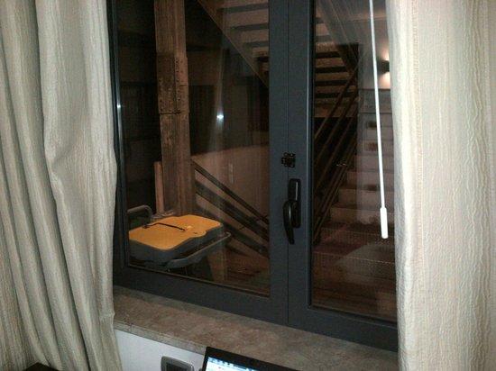 Mercure Palermo Centro : Vista unica finestra